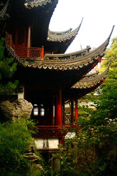 Yuyuan Garden, Shanghai, China.  This was my little boy's favorite place in Shanghai.
