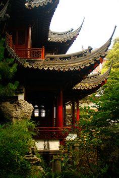 Jardim Yuyuan, em Shanghai, China.