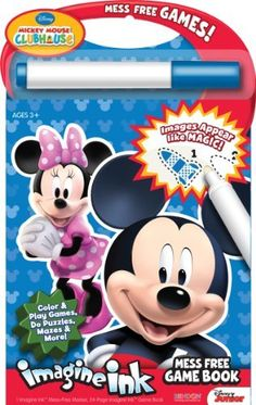 Bendon Publishing Disney Mickey Mouse Clubhouse Mess Free Game Book By