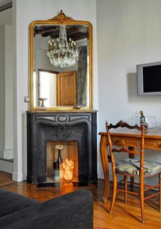 Pied-a-terre in the Marais, Paris