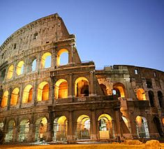 The Colleseum, Rome, Italy  Was an amazing place to see!  :)