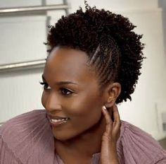 Mohawk hairstyles for black women; choose the best Mohawk hairstyle which will make you look younger. How to create & style Mohawk hairstyles for black women Mohawk Hairstyles, Protective Hairstyles, Natural Hairstyles, Hairstyle Pictures, Hairstyle Short, Hairstyles 2016, Natural Hair Styles For Black Women, Natural Women, Natural Styles