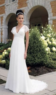f9acd69d8c4 131 Best Wedding Dress Older Bride Over 40 images