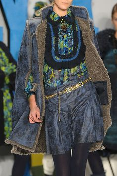 Anna Sui Fall 2012 - Details