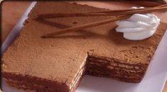 Pastel de galletas con chocolate especiado | Postres Nestl� | Nestl� Postres