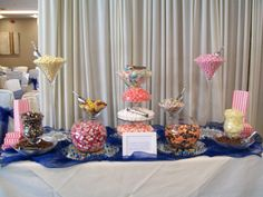 www.facebook.com/SugarRushUK Our Little Sister, Little Sisters, Candy Buffet, Candies, Sweets, Table Decorations, Facebook, Cake, Sweet Pastries