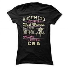 CNA T Shirts, Hoodies. Get it now ==► https://www.sunfrog.com/Jobs/CNA-91060389-Ladies.html?41382