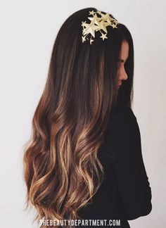 Hair Color #ombre #brunette #highlights #fall #winter
