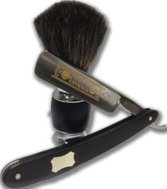 The Boardroom Salon is now carrying Dovo Straight Razors and Shave Brushes! Click the image for an excellent How-To on straight razor shaves by Sharpologist.