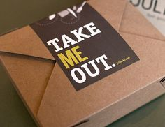 Take Out #packaging