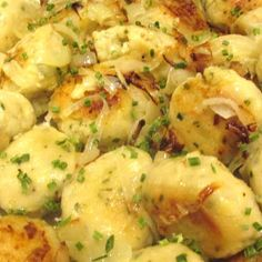 My former boss shared this recipe with me years ago. We had a luncheon at work and this was one of   It is simple easy and quick and a great way to   They are great sauteed in butter with added sauteed Onions. If you like potatoes, I think you will fall in love with this simple yet tasty side dish.  Try it and see if you don't agree. This recipe is from my cookbook of 795 recipes.