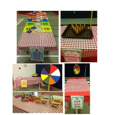 Carnival games I used for our Compassion Carnival / possible VBS idea