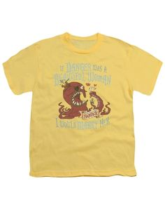 The Marvelous Misadventures Of Flapjack Custom Danger Youth 18/1 100% Cotton Short-Sleeve T-Shirt