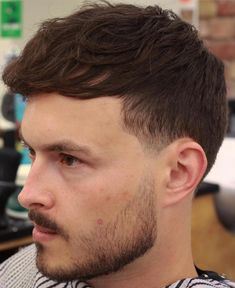 Wavy Forward Hairstyle