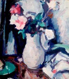 Roses - Samuel John Peploe - The Athenaeum