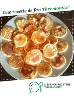 Brunch Recipes 93877 BLINIS MAISON by A fan recipe to find in the Starters category on www.fr, from Thermomix <sup> ® </sup>. Brunch Recipes, Appetizer Recipes, Breakfast Recipes, Tapas, Prep & Cook, Thermomix Desserts, Easy Cheesecake Recipes, Baked Pumpkin, Sweets
