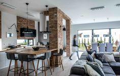 A gorgeous Nordic industrial home    Hermosa casa estilo nórdico industrial - Casa Haus Decoracion
