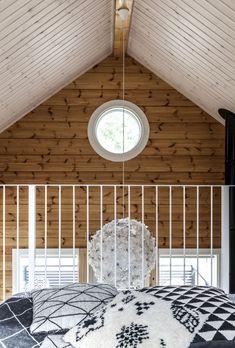Attic Master Bedroom, House Doctor, Country Living, Pop Up, Koti, Cottage, Cabin, Ceiling Lights, Lighting