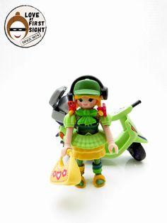Playmobil - Me and my green Vespa