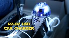 R2D2 USB Car Charger That Whistles & Beeps in Your Cup Holder - Animated Star Wars Car Accessory - With Rotating Head and Lightup Eye - 2 - 2.1Amp USB Ports For iPhones, Smartphones, iPads, Tablets, GPS etc - Official Star Wars Merchandise:Amazon:Cell Phones & Accessories