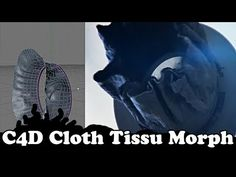 Cinema 4D Tutorial : Cloth / Tissu Morphing Motion Design / Graphics - YouTube