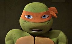 I'm Michelangelo, the Mikeynator! but you guys can call me Mikey. I like to eat pizza, hang with my bros and kick bad guy butt! Tmnt Mikey, Tmnt 2012, Michelangelo, Teenage Mutant Ninja Turtles, Theatre, Bff, Cartoons, Nerd, Shell