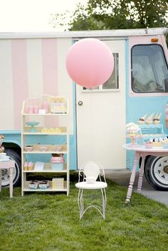 Ice Cream Truck themed party