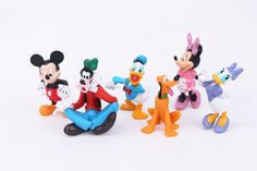 6pcs/Set Disney MICKEY Minnie Donald Duck Cartoon Action Figure Childre's Toy Free shipping