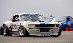 Wide Body Mustang Racecar