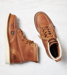 "Brown Thorogood 6"" Moc Toe Boot"