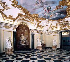 Salones del Palacio Real de la Granja (Segovia)