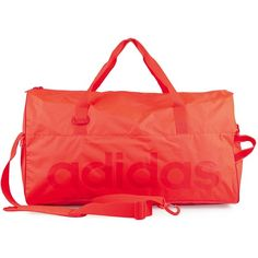 Adidas Sport Performance Lin Bag M (265 NOK) ❤ liked on Polyvore featuring bags, handbags, shoulder bags, accessories sport, red, sports fashion, womens-fashion, pocket purse, sports handbags and sport handbags