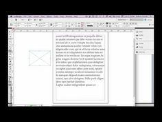 InDesign CS5: Designing a magazine page (Part 2) - YouTube | ART ...