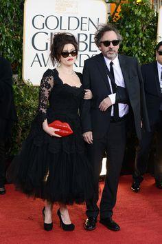 Helena Bonham Carter in Dolce & Gabbana - 2013 Golden Globes Red Carpet