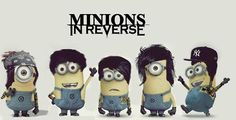 red white and gru despicable me 2 | minions #Falling in Reverse