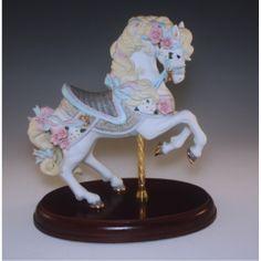 1987 LENOX CAROUSEL HORSE-FIRST IN SERIES-ORIGINAL MADE IN JAPAN