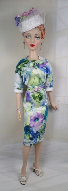 Spring Mix  for Gene Marshall and her friends 16 inch fashion dolls OOAK Fashion