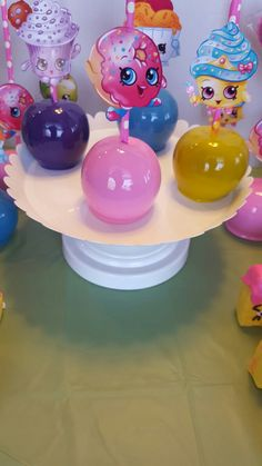 Shopkins Candy Apples