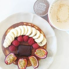 Panquecas para nós!  #prozisrecipes #nudespice #womenshealth #womenshealthportugal #fitmom #pancakes #breakfast ( # @anasofia.insta )