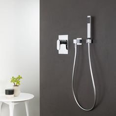Contemporary European Bathrooms track fixed shower outlet http://www.caroma.au/bathrooms