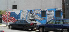 street art bushwick collective new york brooklyn nyccrazygirl New York Street Art, Street Art News, Graffiti, Ville New York, Crazy Girls, New Art, Brooklyn, Photos, Nyc