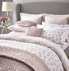 Lancashire Textiles Reversable Printed Paisley Grey White Boudoir Cushion