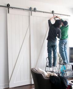 9 Fresh Sliding Closet Door Design Ideas | Closet doors, Barn door on