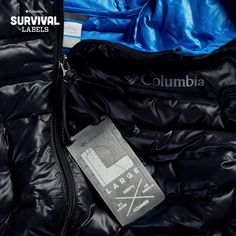 """Columbia Sportswear's """"Survival Labels"""" Turn Clothing Hang Tags Into Functional Multitools - Core77"""