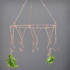 I've just found Copper Herb Chandelier. Delicate yet striking herb drying rack for indoor and outdoor use.. £10.00