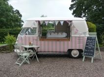 Polly's Vintage Ice Cream Parlour available of bookings - get in touch