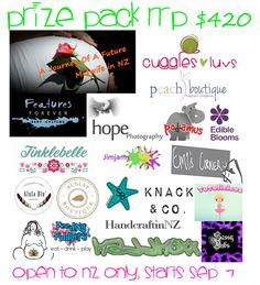 Enter to win: $420 Prize Pack for Mum