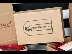 Blind Surprise - New Monthly Subscription Boxes order for yourself or someone else a box with a unknown surprise in it. Perfect when you dont know what to get someone.