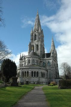 Saint Fin Barre's Cathedral, County Cork, Ireland. Home of my maternal ancestors. Oh The Places You'll Go, Places To Travel, Places To Visit, Beautiful Buildings, Beautiful Places, Ireland Travel, Galway Ireland, Ireland Vacation, County Cork Ireland