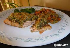 Mézes-mustáros lazac Quiche, Sushi, Pork, Chicken, Meat, Breakfast, Advent, Kale Stir Fry, Morning Coffee